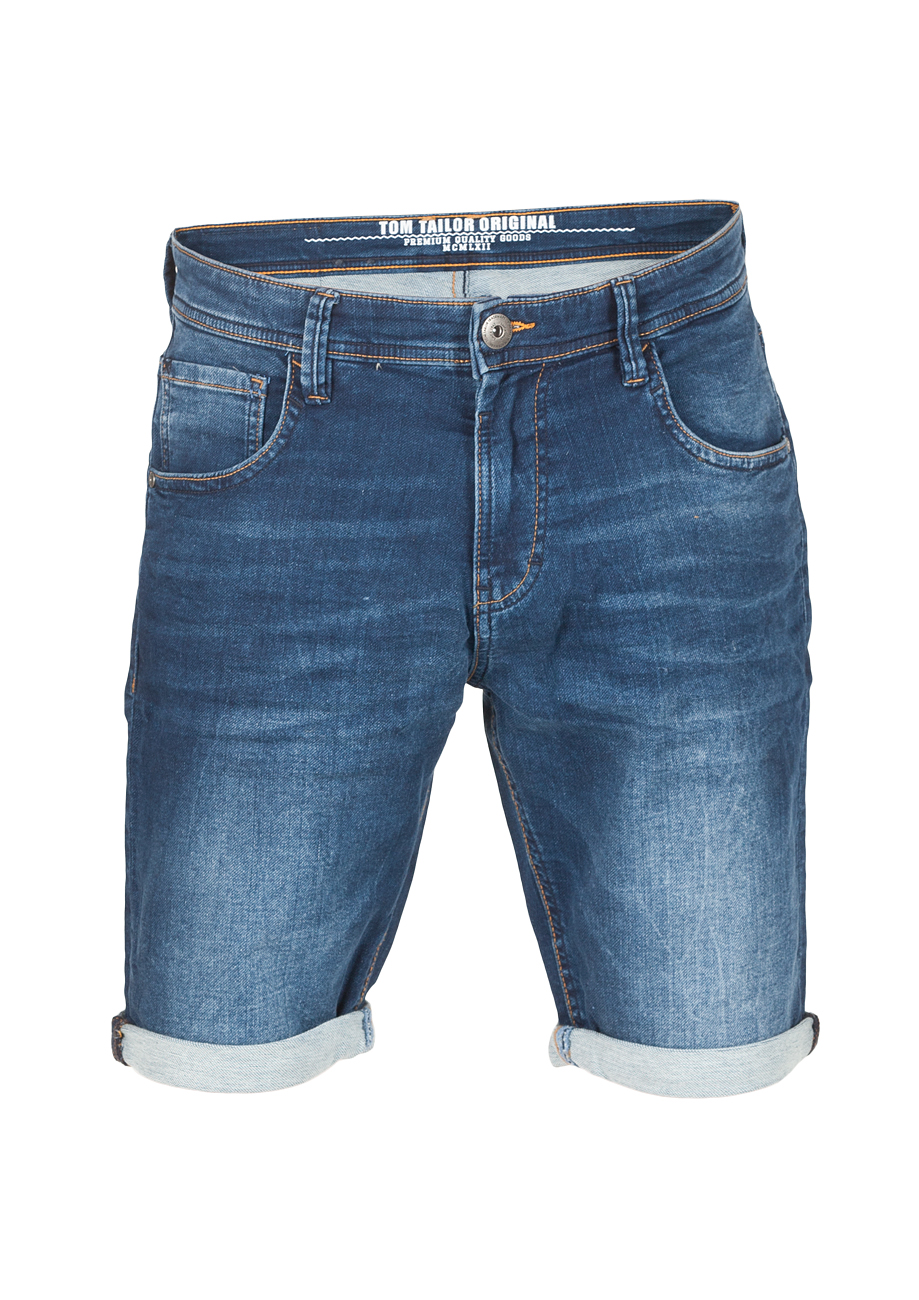 Tom Tailor Herren Jeans Shorts Sweat Denim Bermuda   eBay deebf84237