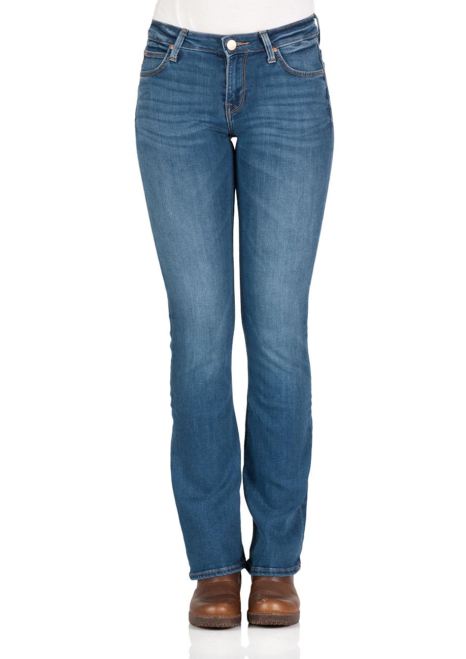 lee damen jeans hoxie skinny bootcut blau midtown blues kaufen jeans direct de. Black Bedroom Furniture Sets. Home Design Ideas