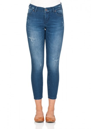 Details about Ltb Women's Jeans Lonia Skinny Fit Blue Dita Wash