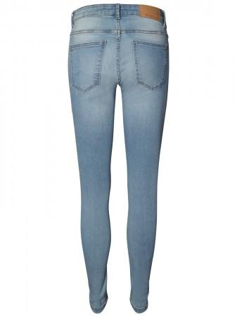 54e819eb2e89 Details zu Noisy May Damen Jeans NMEVE LW PCKT PIPING JEANS VI883LB Skinny  Fit - Light Blue