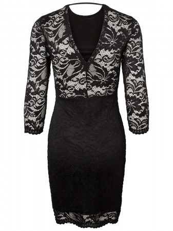 sports shoes 4864b 31f85 Details zu Vero Moda Damen Kleid VMSANDRA 3/4 LACE DRESS